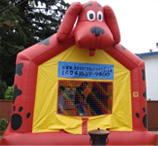Clifford bouncy castle